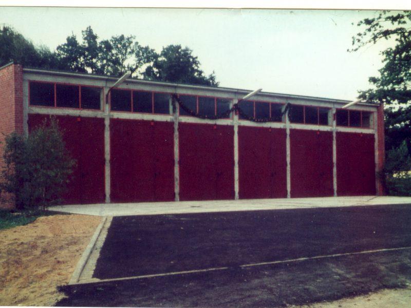 Fahrzeughalle 1964